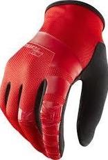 Royal Core Men's Full Finger Glove: Flo Red/Black XL