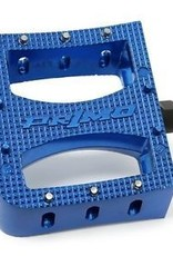 "Primo Super Tenderizer 9/16"" Pedals, Blue"