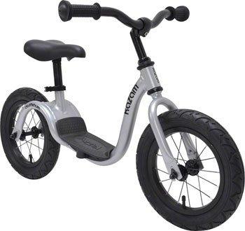 KaZAM v2a Balance Bike: Metallic Silver