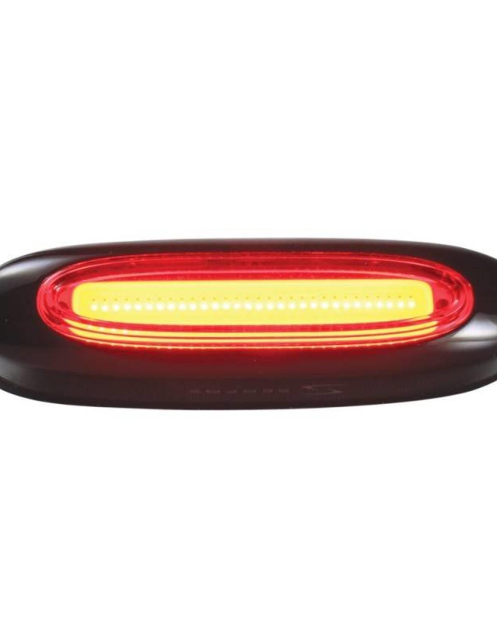 Serfas Serfas Quasar Red Strip Taillight Black