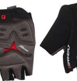 Louis Garneau Louis Garneau Blast Men's Glove: Black/Red XL