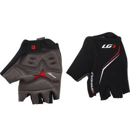 Louis Garneau Louis Garneau Blast Men's Glove: Black/Red XL