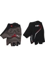 Louis Garneau Louis Garneau Blast Men's Glove: Black/Red 2XL