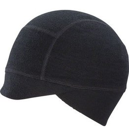 Ibex Bicicleta Cycling Cap: Black One Size