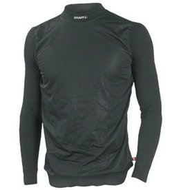 Craft Craft Active Wind Stopper Long Sleeve Crew Base Layer Top: Black MD