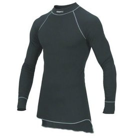 Craft Craft Active Long Sleeve Crew Base Layer Top: Black MD