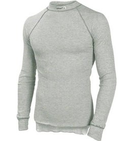 Craft Craft Active Crewneck Long Sleeve Baselayer: Gray LG