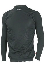 Craft Craft Active Wind Stopper Long Sleeve Crew Base Layer Top: Black SM