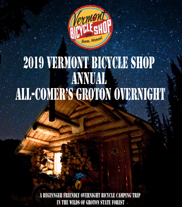 2019 Beginner's Bike Packing Adventure, The Wilds of Groton
