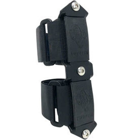 TwoFish TwoFish Quick Cage 3 Bolt Adapter: Black Anodyzed