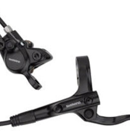 Shimano Shimano Alivio BL-MT200/BR-MT200 Disc Brake and Lever - Front, Hydraulic, Post Mount, Resin Pads, Black