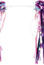 Dimension Kid's Bike Streamers: Pink/Purple~ Pair