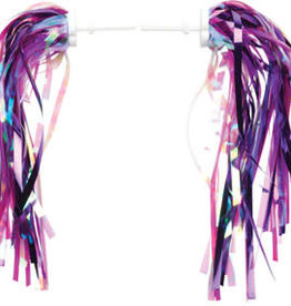 Dimension Kid's Bike Streamers: Pink/Purple~ Pair