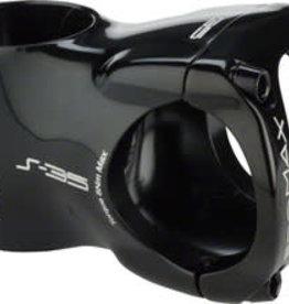 """Promax Promax S-35 Stem - 40mm, 35 Clamp, +/-0, 1 1/8"""", Aluminum, Black"""