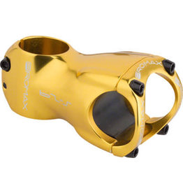 "Promax Promax S-29 Stem - 60mm, 31.8 Clamp, +/-0, 1 1/8"", Aluminum, Gold"