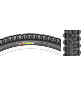 Club Roost Club Roost Cross Terra Hybrid Tire - 27 x 1-3/8, Clincher, Steel, Black, 60tpi