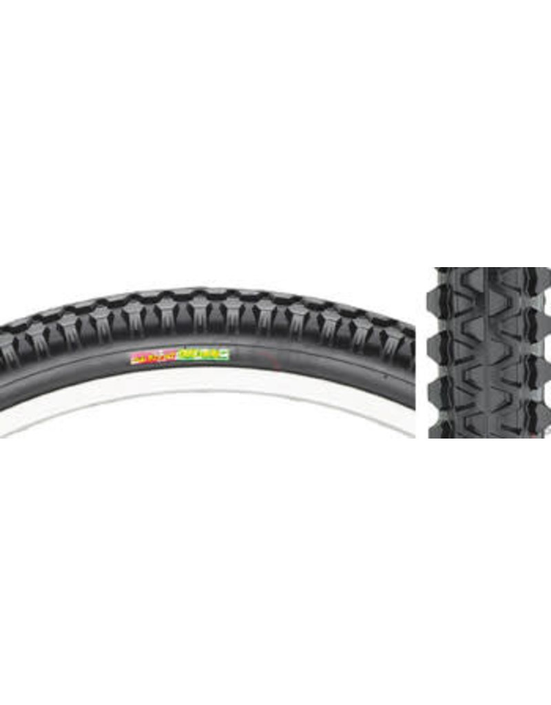 Club Roost Club Roost Cross Terra Hybrid Tire - 27 x 1-3/8, Clincher, Steel, Black, 60tpi