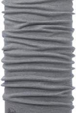 Buff Buff Midweight Merino Wool Multifunctional Headwear: Light Gray Melange, One Size