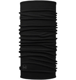 Buff Buff Midweight Merino Wool Multifunctional Headwear: Black, One Size