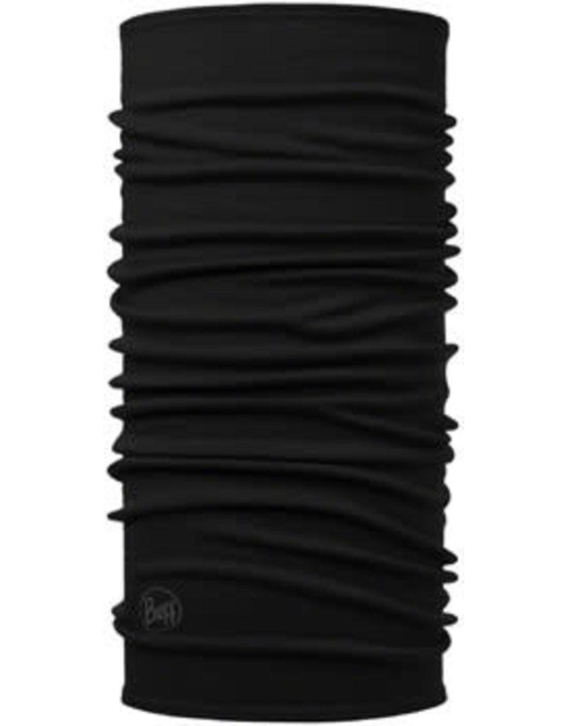 Buff Buff Midweight Merino Wool Multifunctional Headwear: Black, One Size