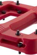 "RaceFace RaceFace Chester Pedals - Platform, Composite, 9/16"", Red"