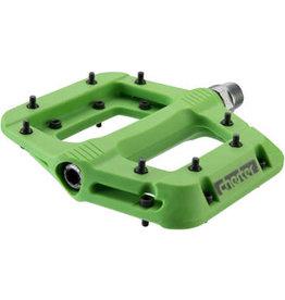 "RaceFace RaceFace Chester Pedals - Platform, Composite, 9/16"", Green"