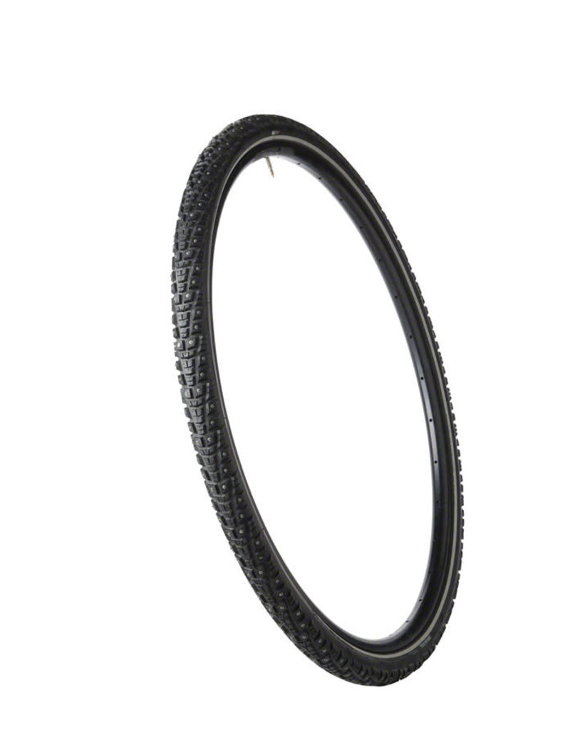 45NRTH Gravdal Tire - 700 x 38, Clincher, Steel, Black, 33tpi, 252 Carbide Steel Studs