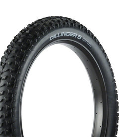 45NRTH 45NRTH Dillinger 5 Tire - 26 x 4.6, Tubeless, Folding, Black, 60tpi, 258 Carbide Steel Studs