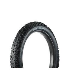 45NRTH Dillinger 5 Tire - 26 x 4.6, Tubeless, Folding, Black, 60tpi, 258 Carbide Steel Studs