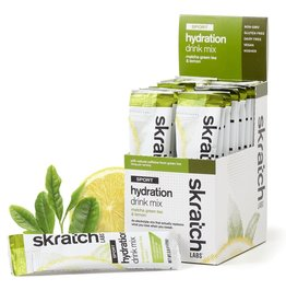 SKRATCH LABS Skratch Labs Sport Hydration Drink Mix - Matcha Green Tea & Lemon (w/Caffeine) / Single Serving