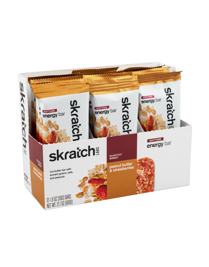 SKRATCH LABS Skratch Labs Anytime Energy Bar - Peanut Butter & Strawberries