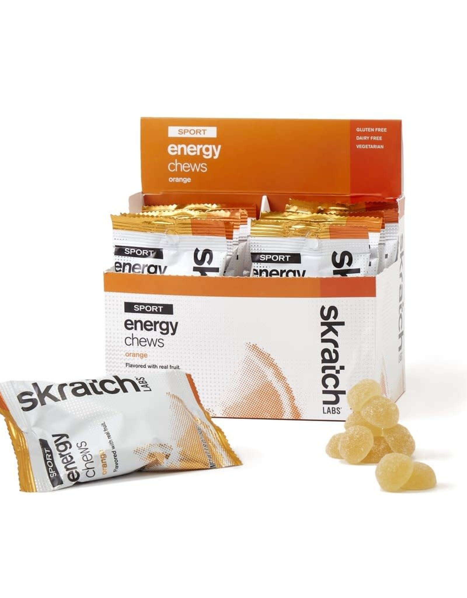 SKRATCH LABS Skratch Labs Sport Energy Chews - Orange / Single Pouch