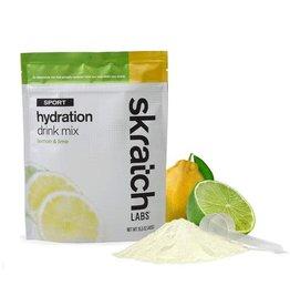 SKRATCH LABS Skratch Labs Sport Hydration Drink Mix - Lemon & Lime / Resealable Bag - 20 serving