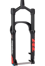 """Manitou Manitou Mastodon Comp Fat Bike Suspension Fork, 100mm Travel, 15 x 150 mm Axle, Tapered, Extended, up to 5.15"""" Tire, Matte Black"""