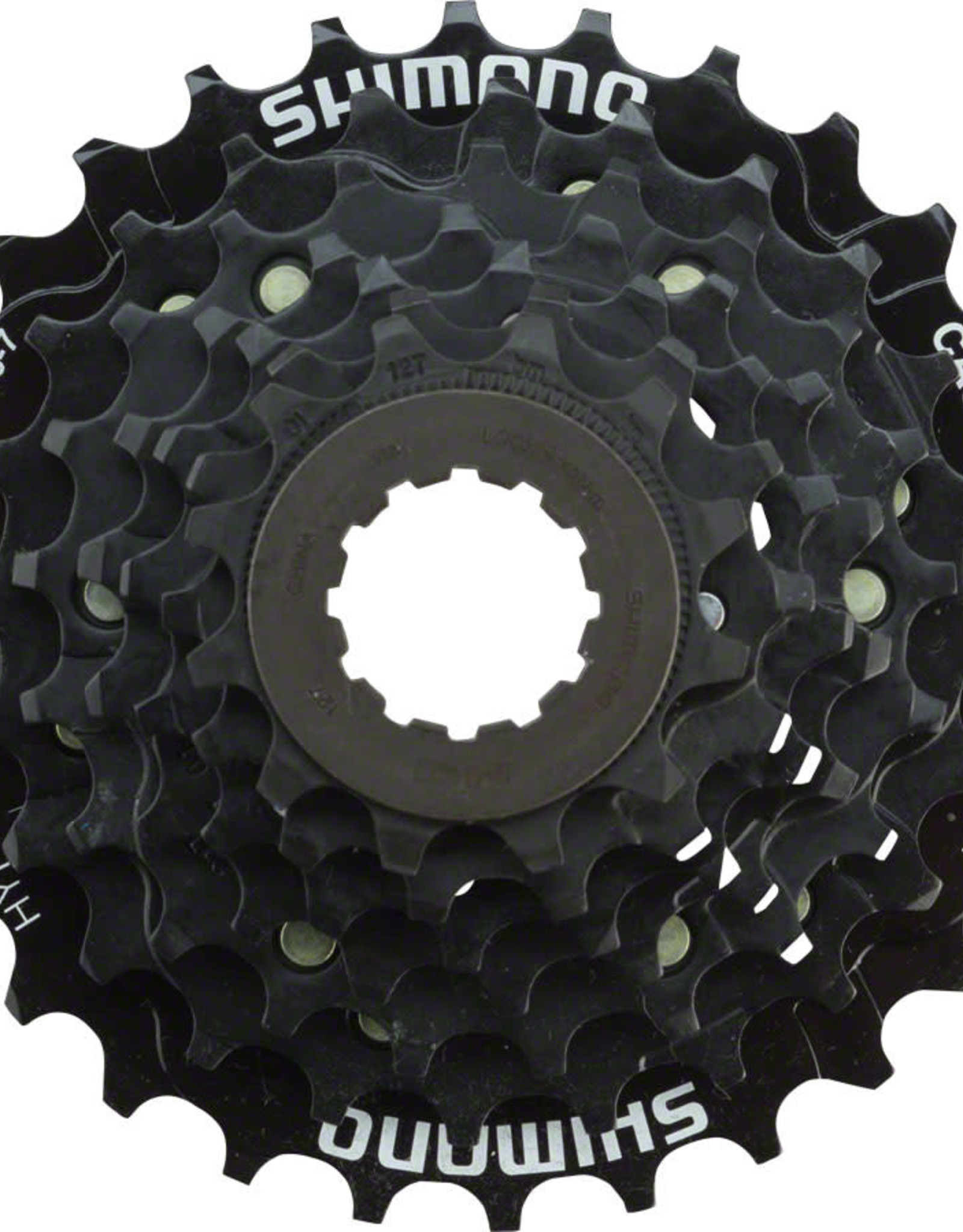 Shimano Shimano Tourney CS-HG200 Cassette - 7 Speed, 12-28t, Black