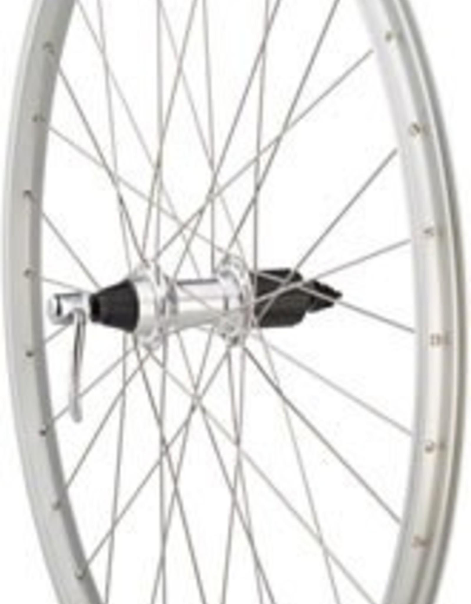 """Quality Wheels Value Series 1 Mountain Rear Wheel 26"""" Formula 135mm Freehub / Alex Y2000 Silver"""