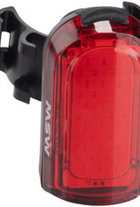MSW Tigermoth 20 USB Taillight, 20 Lumen, Black