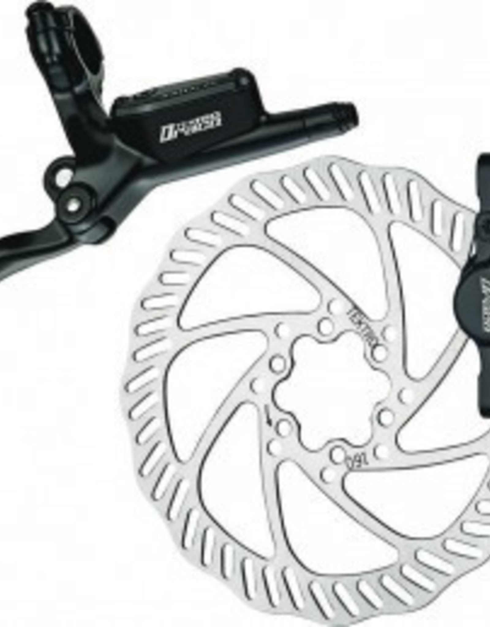 Tektro Draco Hydro Front Black 160MM Brake Disc