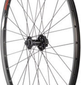"Quality Wheels Value Double Wall Series Disc Front Wheel - 29"", QR x 100mm, 6-Bolt, Black, Clincher"