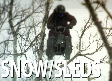 Snow and Sleds