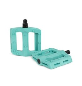 "The Shadow Conspiracy Surface Pedals - Platform, Plastic, 9/16"", Phantom Green"