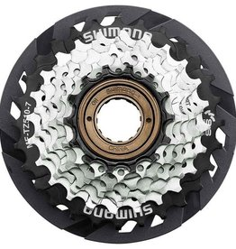 Shimano Shimano Multiple Freewheel Sprocket, MF-TZ510 14-28T, 7-SPEED, 14-16-18-20-22-24-28T, W/spoke Protector