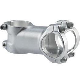"Dimension Trail Stem - 60mm, 31.8 Clamp, +/-6, 1 1/8"", Aluminum, Silver"