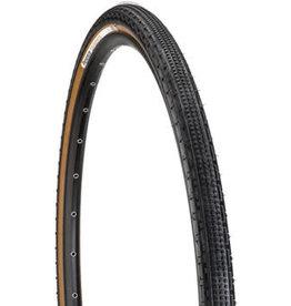 Panaracer Panaracer GravelKing SK Tire - 700 x 28, Clincher, Folding, Black/Brown