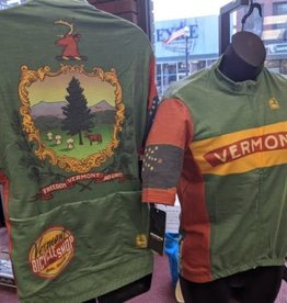 Vermont Bicycle Shop Vermont Bicycle Shop State Seal Wool Jersey