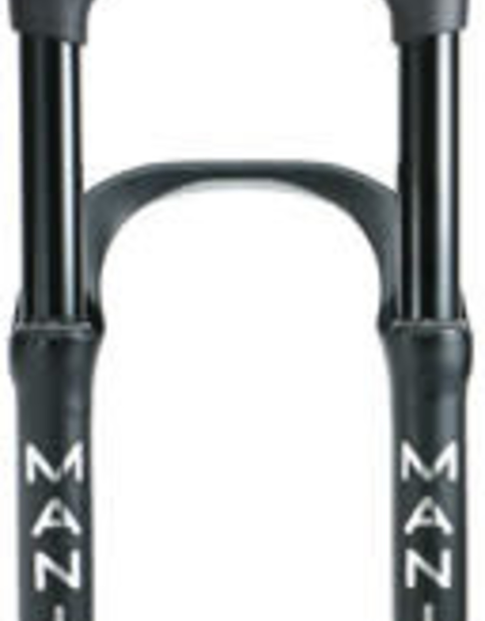 """Manitou Manitou Mastodon Comp Suspension Fork - 26"""", 100 mm, 15 x 150 mm, 51 mm Offset, Matte Black, Extended"""