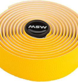 MSW Anti-Slip Gel Handlebar Tape - HBT-210, Yellow