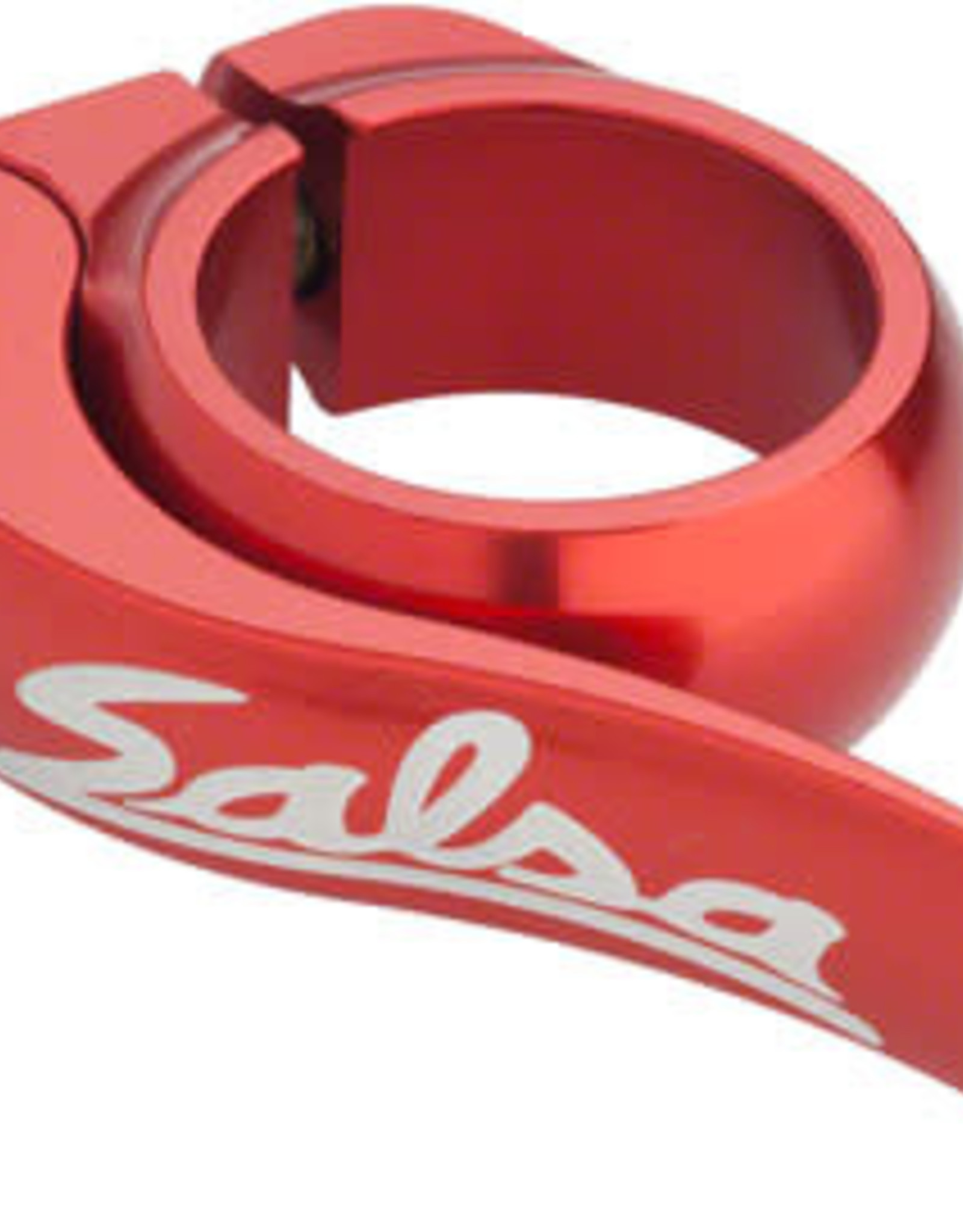 Salsa Flip-Lock Seat Collar 35.0 Red