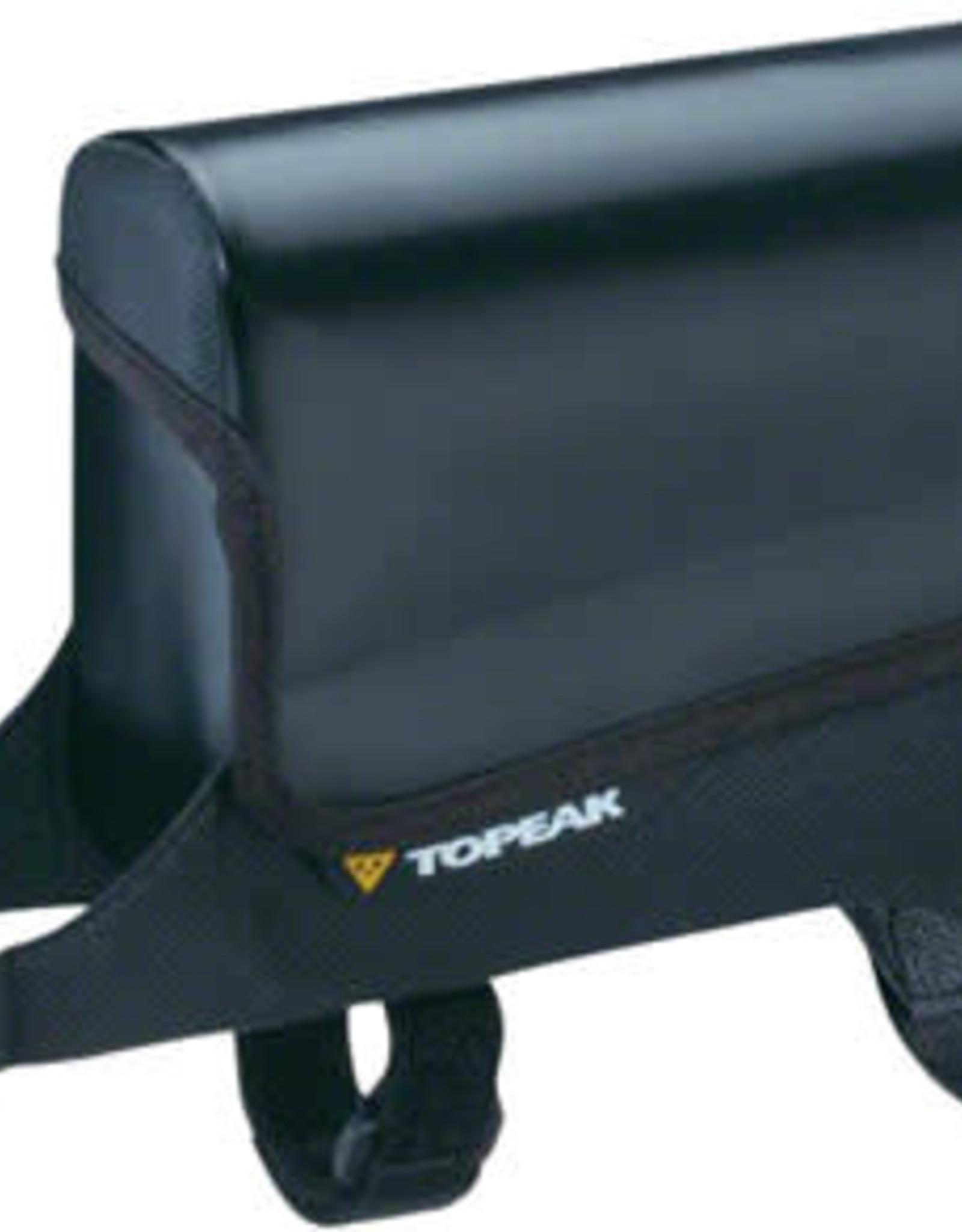 Topeak Aero Wedge Seat Bag - Strap-on, Large, Black