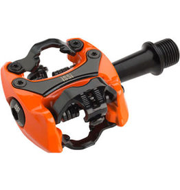 "iSSi Flash II Pedals - Dual Sided Clipless, Aluminum, 9/16"", Orange"